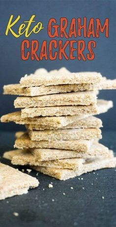 These easy to make, sugar free graham crackers make the perfect smores and will be a hit with the entire family!