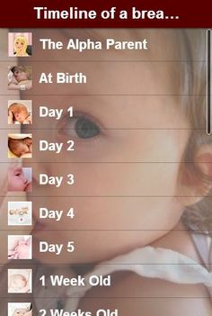 The Alpha Parent: Timeline of a Breastfed Baby... How have I forgotten all of…