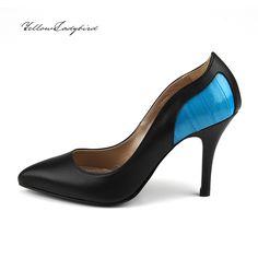 Shark #heels yellowladybird korean independent designer k-pop luxury ladies