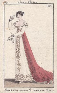 Regency style Regency Dress, Regency Era, Historical Costume, Historical Clothing, Jane Austen, Empire Fashion, Jean Délavé, Vintage Outfits, Vintage Fashion