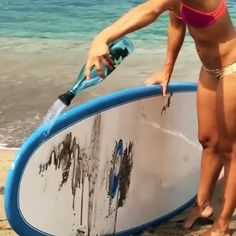 Simple Shower - portable surfing shower device