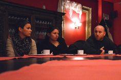 Spotkanie z ludźmi kultury w restauracji Secesja.