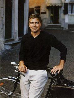 George Clooney by Annie Leibovitz
