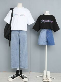 Korean Girl Fashion, Korean Fashion Trends, Ulzzang Fashion, Korea Fashion, Cute Fashion, Cute Girl Outfits, Edgy Outfits, Classic Outfits, Cool Outfits