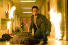"""Freddy Rodriguez as Wray in segment Planet Terror in """"Grindhouse"""" - Movie still no 4 Planet Terror, Freddy Rodriguez, Terror Movies, Robert Sean Leonard, Death Proof, Elvis And Priscilla, Horror House, Blog Images, Quentin Tarantino"""