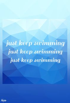 Weekly Affirmation: Just Keep Swimming | Disney Style