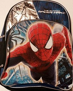 Marvel Amazing Spider-man 2 School Backpack. Back to school. Little boys love Spider-man! #SpiderMan #Backpack
