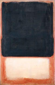 Mark Rothko - No. 7 (Dark Over Light), 1954, oil on canvas