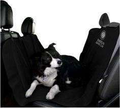 Car Seat Cover Pet Black Dog Waterproof Travel Back AmeriCat Mat Protector Water #AmericanKennelClub