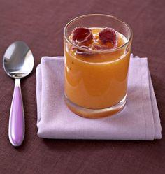 Velouté de melon glacé au pineau des Charentes et jambon cru - Ôdélices : Recettes de cuisine faciles et originales !