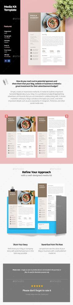 57 best Media Kit Template images on Pinterest | Media kit template ...