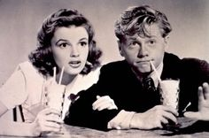 """Judy Garland and Mickey Rooney  """"Always be a first-rate version of yourself, instead of a second-rate version of somebody else."""" ~Judy Garland"""