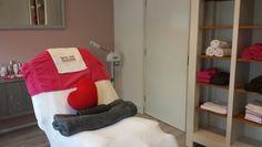 Behandelruimte huidverbetering/verzorging Jo's Feet and Skincare Leerdam
