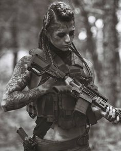 Girl with a Weapon ebony teen slutload Military girl . Women in the military . Women with guns . Girls with weapons Mad Max, Airsoft, Fallout, Shooting Guns, Shooting Range, Hunting Girls, Future Soldier, Military Women, Military Army