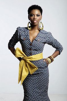 Modern African Attire Women | South African Singer lira in african designer wear