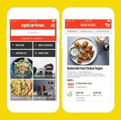 Use this app for some recipe inspo.
