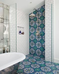 Bathroom Wall Tile Idea Picture 10 top Trends In Bathroom Tile Design for 2020 Cement Tiles Bathroom, Bathroom Tile Designs, Bathroom Colors, Small Bathroom, Bathroom Ideas, Bathroom Goals, Master Bathroom, Bathroom Remodeling, Shower Tiles