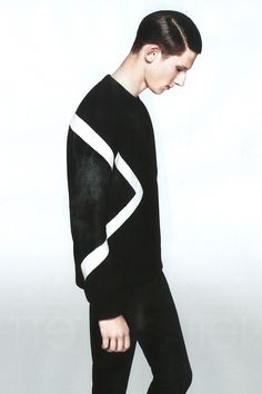 Botond Cseke for Neil Barrett FW 2013 campaign