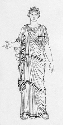 Himation • a large voluminous cloak • unisex garment • men often wore it alone