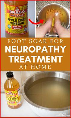 Foot Soak for #Neuropathy Treatment at Home #diabetes #peripheralneuropathy