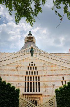 church in Nazareth, Israel