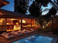 Private beach house in Trancoso