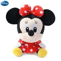 ab274f5435a3 Genuine Disney Mickey Mouse Minnie Mouse Cotton Kawaii Plush Stuffed Animal  Toy Kawaii Plush