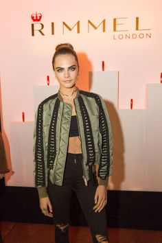 November 9th: Cara attends celebration of partnership with Rimmel London and launch the new Scandaleyes Reloaded Mascara in London, UK [HQs]