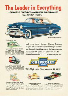 1952 chevrolet art - Google Search