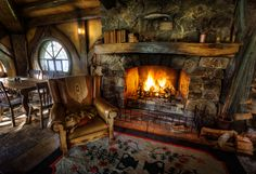 Inside the Green Dragon in Hobbiton | Flickr - Photo Sharing!