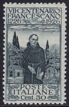 ITALIA 1926 - SAN FRANCESCO - C. 30