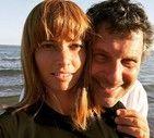 Fabrizio Frizzi con Carlotta Mantovan in una foto pubblicata su Instagram (ANSA)