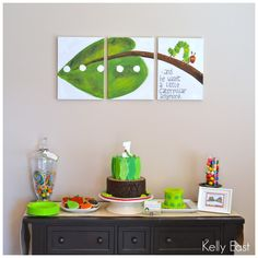 very hungry caterpillar birthday centerpieces - Google Search