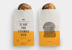 Masa - take away bags on Packaging Design Served