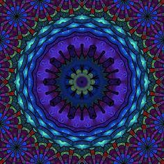 'Mandala-Inspiration' von Marion Tenbergen bei artflakes.com als Poster oder Kunstdruck $16.63
