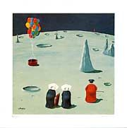 nun paintings of frank whipple | FRANK WHIPPLE NUN PRINTS - Limited Edition Prints