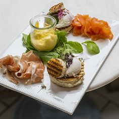 Downtown (Street): Royal Smushi Cafe. Small open faced sandwiches