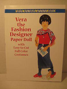 Vera the Fashion Designer Paper Doll Book, Dover Beginners Activity 2001