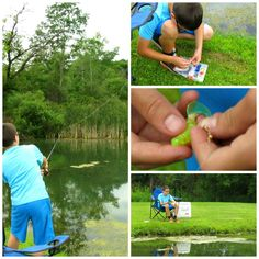 An idea for Media Free Time: Fishing!