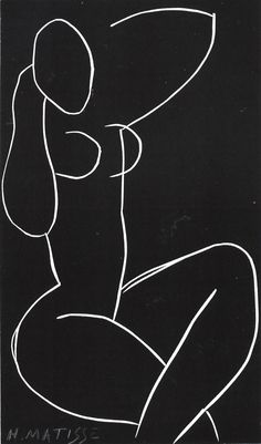 phasesphrasesphotos:  Nude Seated with Crossed Legs Henri Matisse