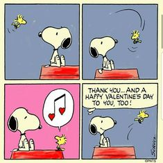 Valentine's message from Woodstock to Snoopy Snoopy Valentine's Day, Snoopy Comics, Snoopy And Woodstock, Snoopy Family, Funny Comics, Valentine Cartoon, Funny Valentine, Valentine Stuff, Peanuts Cartoon