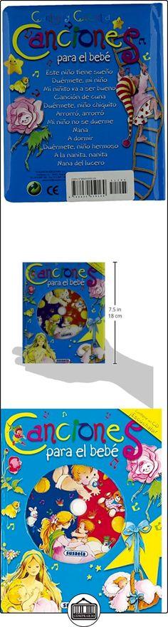 Canciones Para El Bebe. (Canta Y Cuenta Con CD) Equipo Susaeta ✿ Libros infantiles y juveniles - (De 0 a 3 años) ✿
