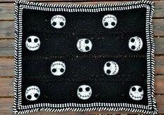 Halloween Crochet Blanket   Hooked on Homemade Happiness