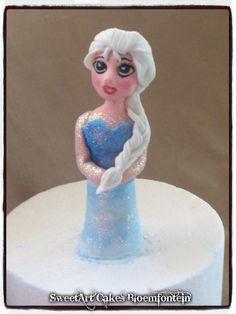 Cupcake Toppers, Cupcake Cakes, Cupcakes, Frozen Cake, Elsa Frozen, Fondant, Icing, Cake Decorating, Facebook