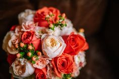 Navy Meets Coral - Inspired Bride