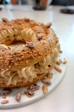 Paris-Brest à l'ancienne by Christophe Michalak, Paris.