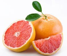 healing with foods-Grapefruit is an incredible food to eat while dieting. Not only does it lower insulin levels in your body that tell it to store fat- it can also speed up your metabolism with its high fiber content. Grapefruit also contains vitamin C, folate, and vitamin B5.