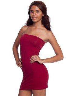 Cotton Spandex Jersey Too-Short Tube Dress   Shop American Apparel - StyleSays