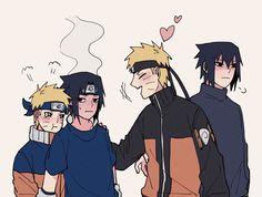 Naruto Vs Sasuke, Anime Naruto, Naruto Comic, Naruto Cute, Naruto Funny, Anime Neko, Sasunaru, Naruto Uzumaki Shippuden, Naruto Shippuden Characters