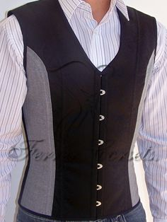 625309dde67 Ferrer Corsets two-tone waistcoat corset available in Jacquard